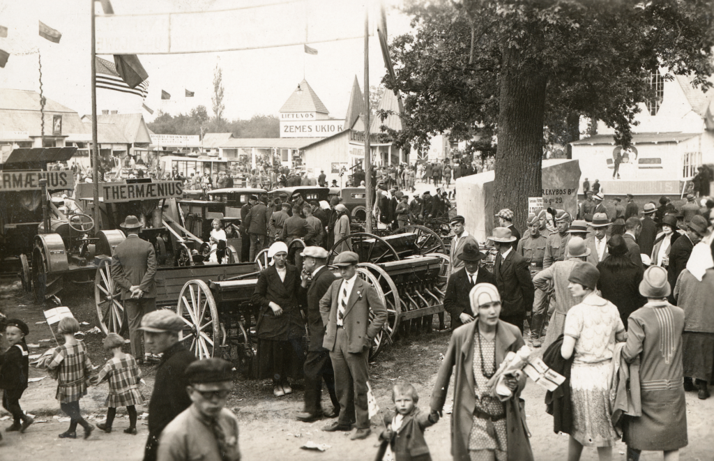 1928-ieji: nuo birželio 28-osios iki liepos 3-iosios 7-oji Lietuvos žemės ūkio ir pramonės paroda Kaune